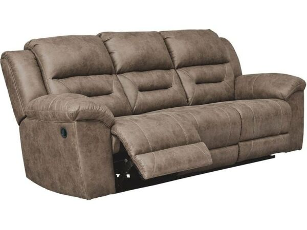 Stoneland Power Reclining Sofa George S Furniture Mattress Napoleon Ohio Furniture Store